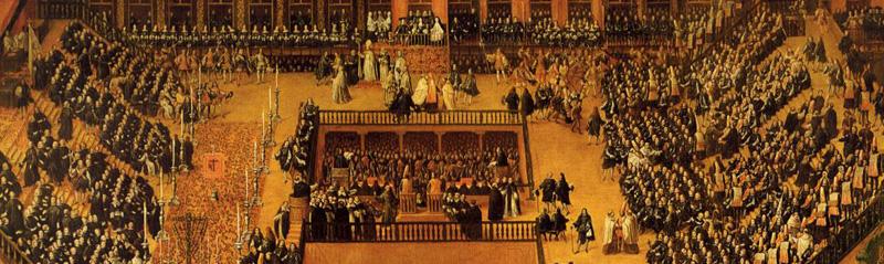 Representación del Concilio de Trento
