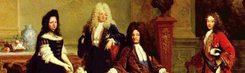 1710. Nicolas de Largillière. Luis XIV y sus herederos